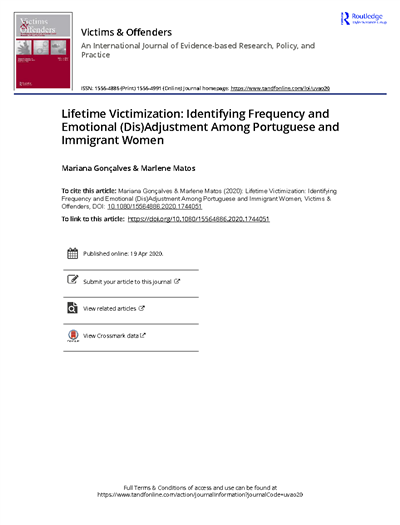 Lifetime Victimization Identifying Frequency and Emotional Dis Adjustment Among Portuguese and Immigrant Women_2020.pdf